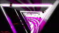 Looped seamless light tunnel for event, concert 37045669