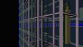 고층 빌딩의 전망 엘리베이터와 배경이 투명한 애니메이션 ._1 37068680