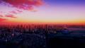 東京 晴海 築地 有明 豊洲方面 夕景から夜景 長時間撮影タイムラプス カラーグレーディング 37303756