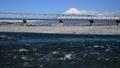 Fuji River and Mt. Fuji-610 20 64 37325662