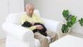 老人 犬 男性の動画 37405631