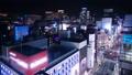 东京银座游戏中时光倒流夜景银座街银座4丁目俯瞰缩小 37416624