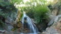 foaming small waterfall in forest 37498927