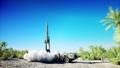 Nuclear ballistic rocket, complex. Launch rocket 37506092