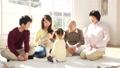 家族 ファミリー 三世代の動画 37544389