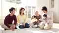 家族 ファミリー 三世代の動画 37544391