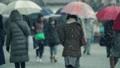 Heavy Snow Tokyo People Walk 37692075