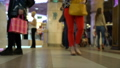 Concept shopping people crowds at mall on eve of 37875560