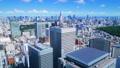 東京 都会 都市の動画 37895083