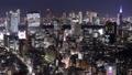 東京 タイムラプス 夜景の動画 37952669