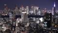 東京 タイムラプス 夜景の動画 37952913