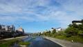 在Kamogawa Shijo Ohashi的京都都市風景Timelapse視圖縮小 37964692