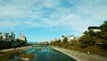 京都都市風景Timelapse顏色分級俯視Kamogawa Shijo Ohashi 37964694