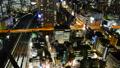 东京夜视图timelapse大城市充满活力的都市风景关闭掀动 38095762