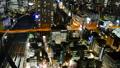 东京夜视图timelapse大城市充满活力的都市风景关闭放大 38095766