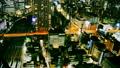 东京夜视图timelapse大城市充满活力的都市风景特写镜头颜色分级 38095768