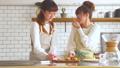 女性 キッチン 調理の動画 38100087
