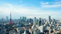 โตเกียวทาวเวอร์และตึกระฟ้าเอียงไปตามกาลเวลา 38171674