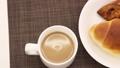 baker, bread, cafe latte 38250801