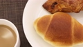 baker, bread, cafe latte 38250802