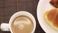 baker, bread, cafe latte 38250803