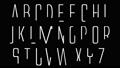 アルファベット 手書き 英語 AtoZ Alien League  タイプ2 38335275