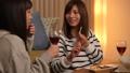 家飲み 女性 ワインの動画 38414504