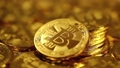 Cryptocurrency Gold Bitcoin, BTC, Bit Coin 38463096