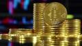 Bitcoin mining concept 38463097