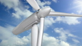 The blades on a wind turbine, clean energy concept 38595191