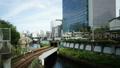 도쿄 교통 이미지 시간 경과 지하철과 JR 오차 노 미즈 역 FIX 38653593