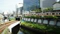 도쿄 교통 이미지 시간 경과 지하철과 JR 오차 노 미즈 역 좁은 38653594