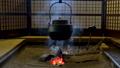 囲炉裏端 囲炉裏 鉄やかんの動画 38655539