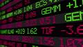 Stock market ticker digital data 38663200
