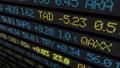 Stock market ticker digital data 38663201