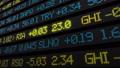 Stock market ticker digital data 38663202