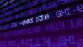 Stock market ticker digital data 38663203