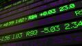 Stock market ticker digital data 38663204
