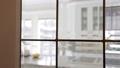 Modern Kitchen interior. Shot through window 38676232