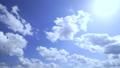 空 青空 雲の動画 38862860