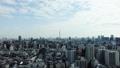 都市風景 文京区・シビックセンター展望台から東京スカイツリー方向を望む タイムラプス ズームイン 38875140