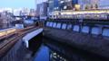 도쿄 황혼 오차 노 미즈, 聖橋 오가는 열차 시간 경과 확대 38991451