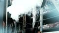 게이 힌 공업 지역 공장 클로즈업 솟아나는 수증기 카라구레 확대 39011300