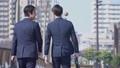 ビジネスマン 歩く ビジネスの動画 39034602
