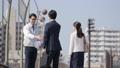 握手 ビジネスマン ビジネスウーマンの動画 39036084