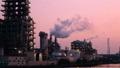 게이 힌 공업 지대 석유 콤비나트 석유 화학 공장 저속 틸트 업 39052881