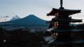 タイムラプス 富士山 忠霊塔の動画 39226968