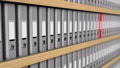 3d animation of binder folders 39336871
