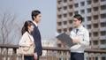 ビジネスマン 不動産 ビジネスウーマン 建設業 ビジネス イメージ 39479948