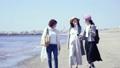 女子旅 旅行 海辺の動画 39494074